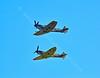Spitfires at Scottish Airshow - 7 September 2014