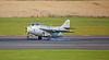 Saab J-29F Tunnan (SE-DXB) at Prestwick Airport - 5 September 2015