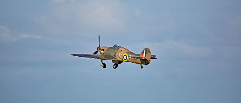 Hawker Hurricane LF363 (Mk IIc) at Prestwick Airport - 5 September 2015