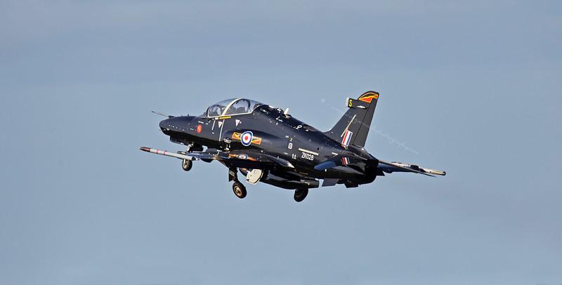 RAF Hawk T2 (ZK028) Departing Prestwick Airshow - 5 September 2015