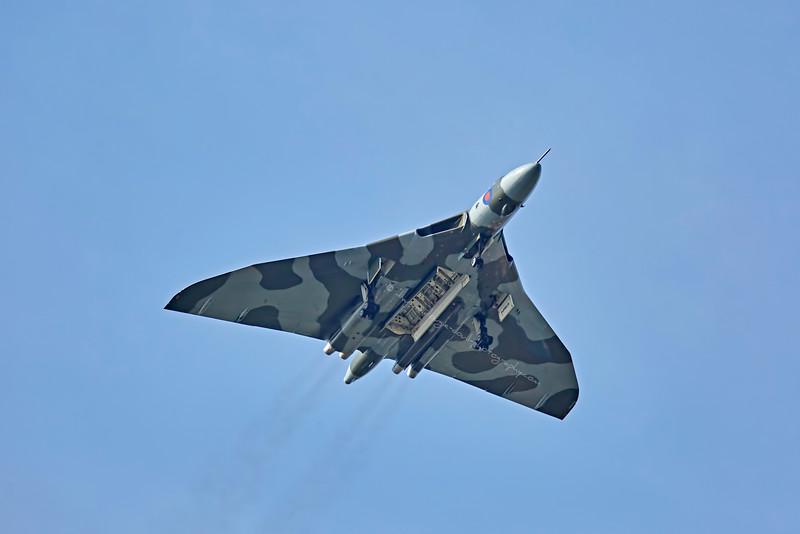 Vulcan (XH558) at Prestwick Airshow - 5 September 2015
