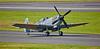 Spitfire Mk LF XVIE (TE311) at Prestwick Airport - 5 September 2015
