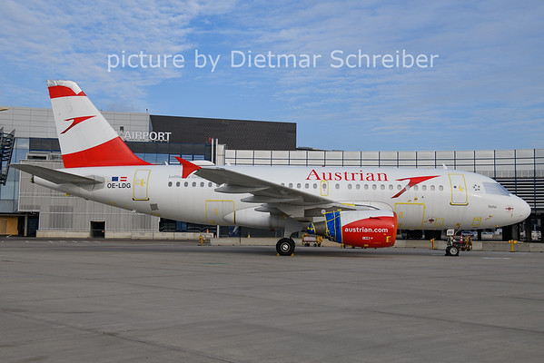 2021-01-31 OE-LDG Airbus A319 AUstrian Airlines