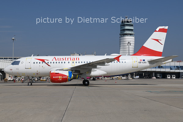 2021-03-25 OE-LDG Airbus A319 Austrian AIrlines