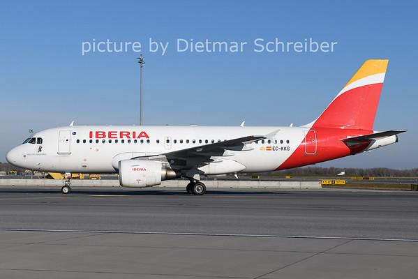 2020-12-27 EC-KKS AIrbus A319 Iberia