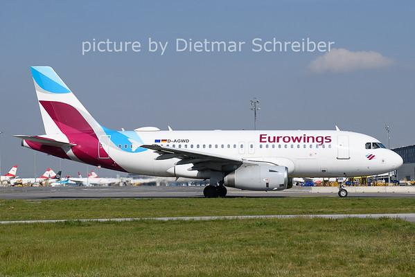 2021-04-27 D-AGWD Airbus A319 Eurowings
