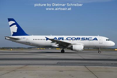 2021-10-17 F-HBEV Airbus A320 Air Corsica