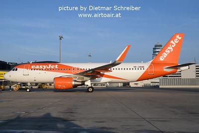 2021-10-04 HB-JXM Airbus A320 Easyjet