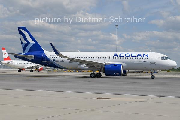 2021-06-01 SP-NEC Airbus A320neo Aegean