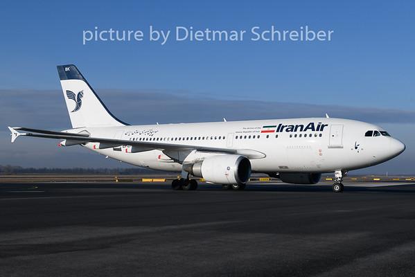 2019-01-30 EP-IBK Airbus A310 Iran Air