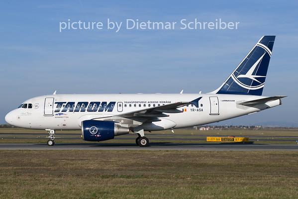 2019-03-30 YR-ASA Airbus A318 Tarom