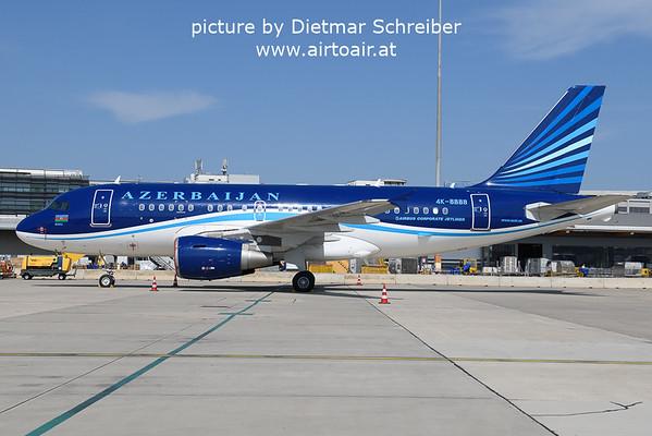 2021-09-06 4K-8888 Airbus A319 Azerbaijan Government