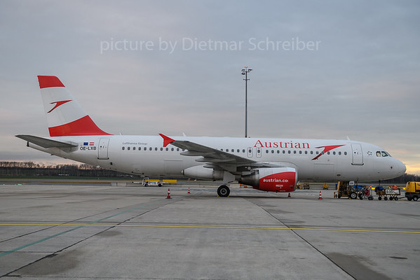 2017-12-22 OE-LXB Airbus A320 Austrian Airlines