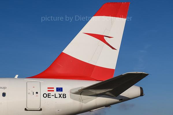 2017-12-25 OE-LXB Airbus A320 Austrian Airlines