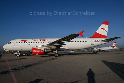 2017-12-25 OE-LXB Airbus A320 Austrian Airlines