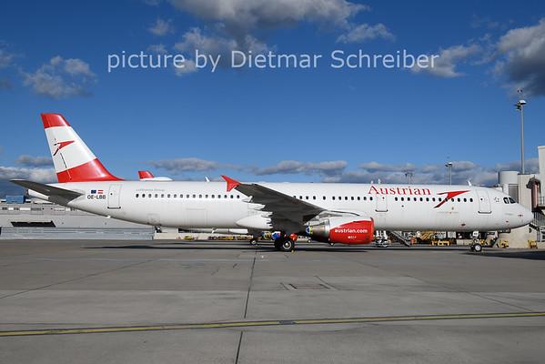 2021-02-04 OE-LBB Airbus A321 Austrian AIrlines