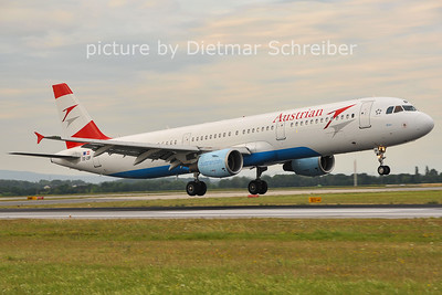 2011-07-15 OE-LBF Airbus A321 Austrian Airlines