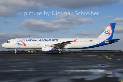 2021-02-13 VQ-BCE Airbus A321 Ural Airlines