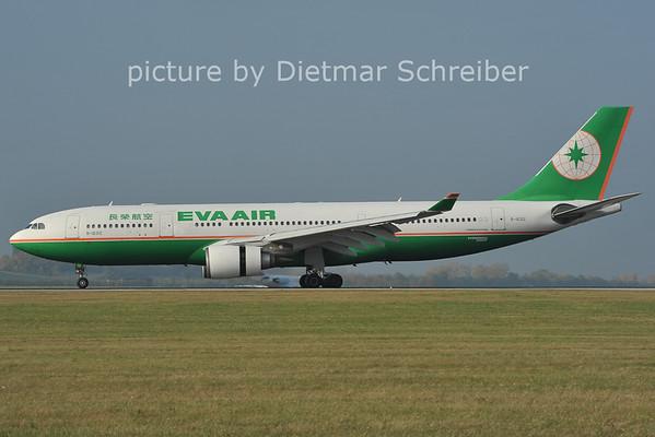 2011-10-30 B-16312 Airbus A330-200 Eva Air