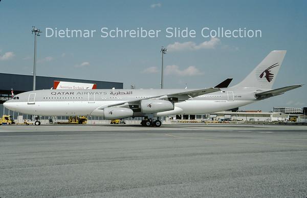 2009-09 A7-HHK Airbus A340-211 (c/n 26) Qatar Government