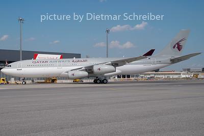 2009-08-17 A7-HHK Airbus A340-200 Qatar