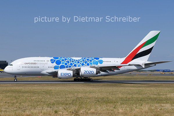 2021-07-07 A-EOT Airbus A380 Emirates
