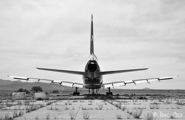 Rear view of the TWA L-1011.