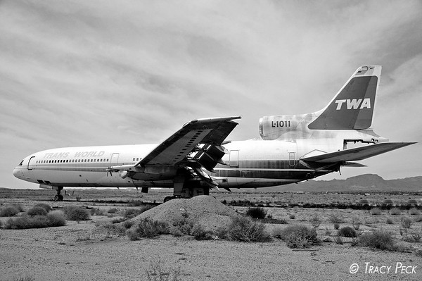 Another perspective of the L-1011.