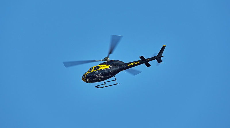 PDG Helicopter (G-NTWK) over Fairlie - 8 February 2021