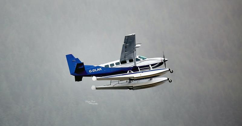Catalina (Miss Pick Up) at Tarbet Bay - 7 July 2015