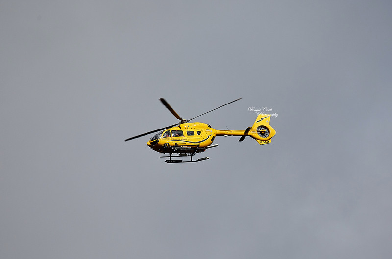 Airbus Helicopter H145 / EC145T2 (20025) over Greenock - 16 October 2019