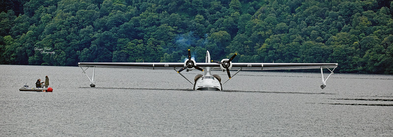 Catalina (Miss Pick Up) at Tarbet Bay - 7 July 2015