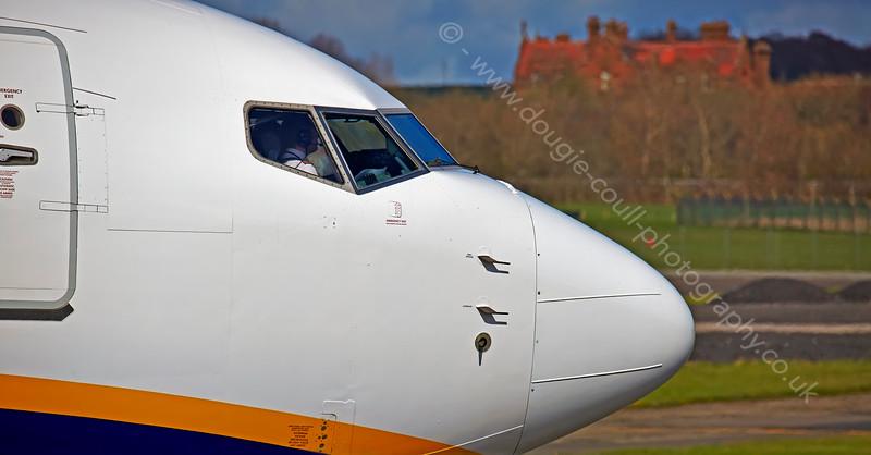 Ryanair Boeing 737-8AS(WL) - EI-DYO - (33636) at Prestwick Airport - 15 April 2015