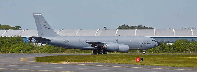 Boeing KC-135T Stratotanker (58-0103) at Prestwick Airport - 26 May 2018