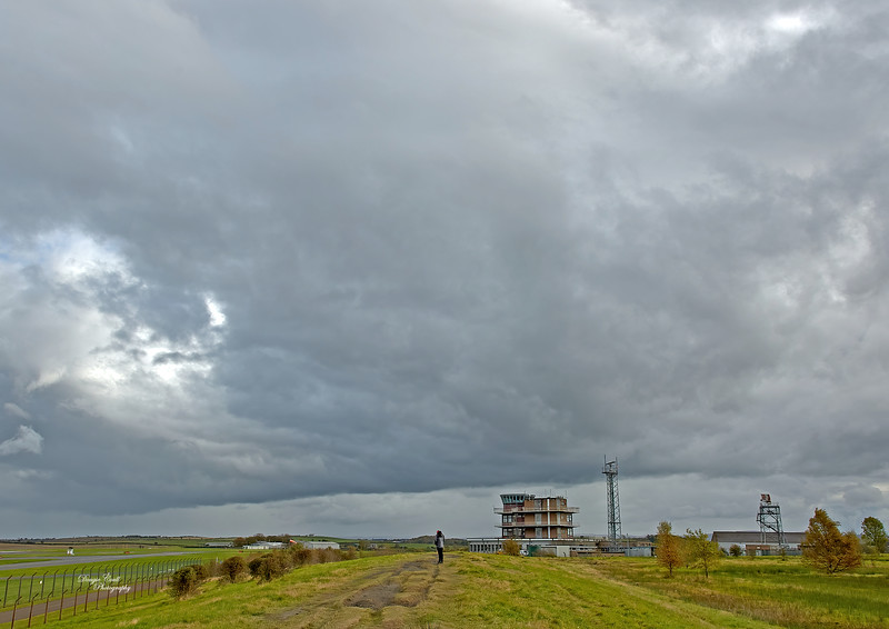 Gathering Clouds at Prestwick Airport - 14 October 2020