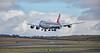 Cargolux Boeing 747 (LX-VCF) at Prestwick Airport - 10 February 2016