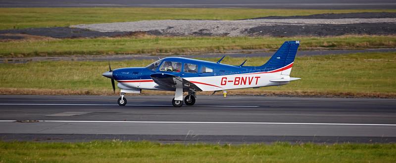 Piper PA-28R-201T Turbo Cherokee Arrow III (G-BNVT) at Prestwick - 20 October 2015