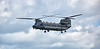 RAF Boeing CH47 HC-4 Chinook (ZA720) at Prestwick Airport - 7 June 2017