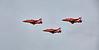 Red Arrows depart Prestwick Airport - 19 June 2015