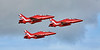 Red Arrows at Prestwick Airport - 2 September 2017