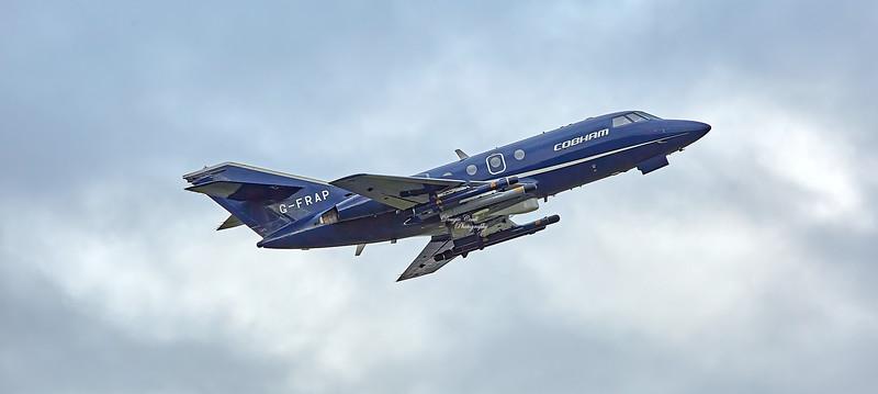 Dassault Falcon 20C (G-FRAP) at Prestwick Airport - 11 October 2019