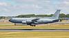 USAF Boeing KC-135R Stratotanker (63-8014) at Prestwick Airport - 9 July 2018