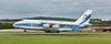 Volga Dnepr Airlines  Antonov An-124-100 Ruslan (RA-82043)  at Prestwick Airport - 29 July 2020