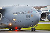 US Air Force Boeing C-17A Globemaster III (06-6166)<br /> Serial #: P-166 at Prestwick Airport - 8 December 2020