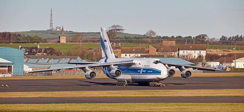 Antonov AN-124-100-150 (RA-82078) at Prestwick Airport - 21 January 2017
