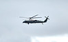 Marine One US Marine Corps Helicopter at Prestwick Airport - 15 July 2018