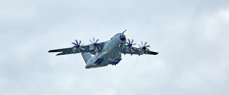 RAF Airbus A400M Atlas C.1 (ZM4043)at Prestwick Airport - 14 October 2020