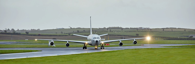 Israeli Air Force Boeing 707-3L6C (272) at Prestwick Airport - 21 October 2020
