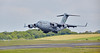 Boeing C-17A Globemaster III (00-0180) at Prestwick Airport - 5 June 2016