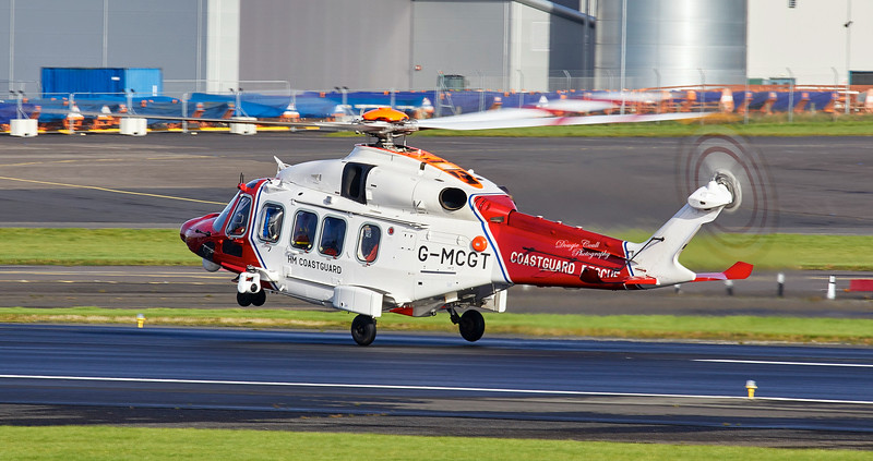 Agusta-Westland AW-189 (92006) at Prestwick Airport - 11 October 2019